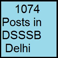 Dsssb Ldc Recruitment for 1074 Posts Apply Online