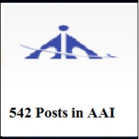 AAI Recruitment 2018 - Apply Online for 542 Junior Executive Posts