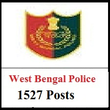 West Bengal Police Recruitment Apply Online for 1527 Post