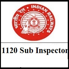 RPF Sub Inspector Apply Online for 1120 Post in Indian Railway