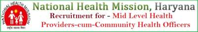 NHM Haryana Mlhp cum CHO Recruitment for 671 Posts Apply Online