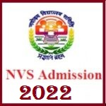 NVS Admission for 6th Class in Session 2022 Apply Online Now