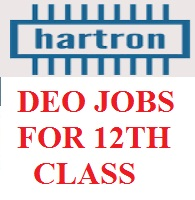Hartron DEO Recruitment