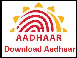 Download Aadhaar and Check Aadhaar Status