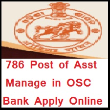 OSC Bank Asst Manager