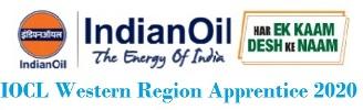 IOCL Western Region Apprentice 2020