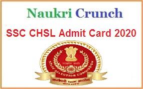 SSC CHSL Admit Card and SSC CHSL Exam Date