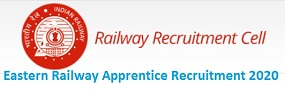 Eastern Railway Apprentice Recruitment 2020 for ITI Trades
