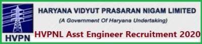 HVPNL Asst Engineer Recruitment Apply Online for 201 Post